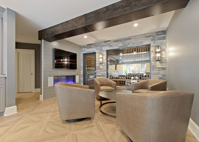 Luxury Basement